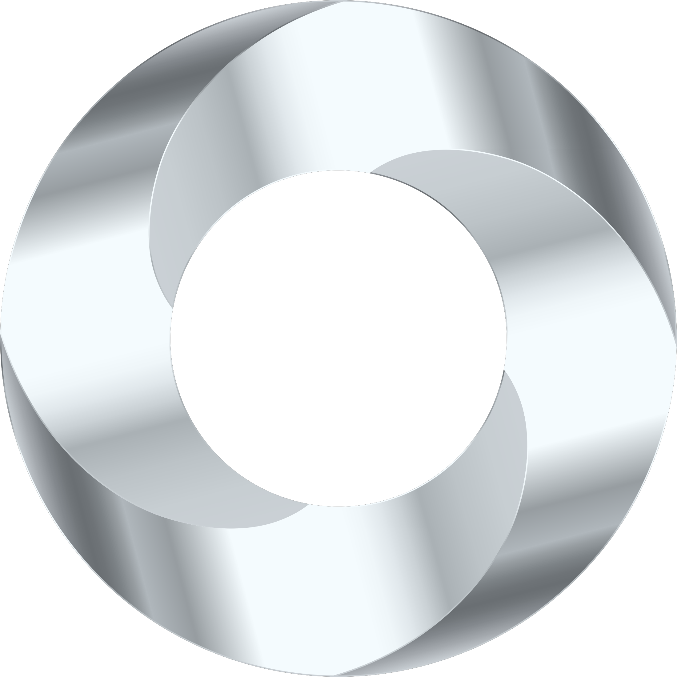 Silver circle png. Torus screw icons free