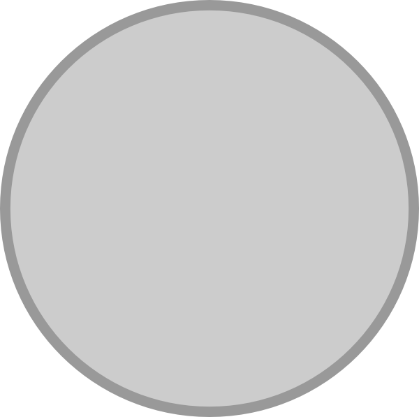 Silver circle png. Clip art at clker
