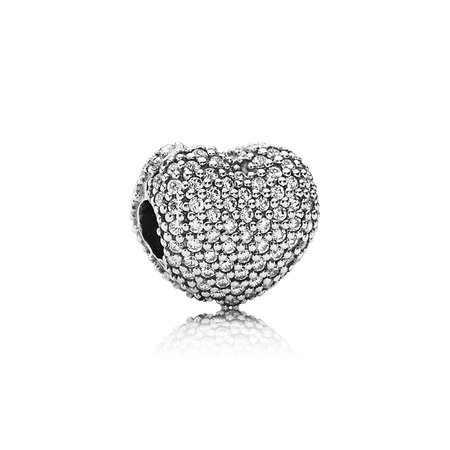 Pav open my heart. Silver clip black metal image black and white library