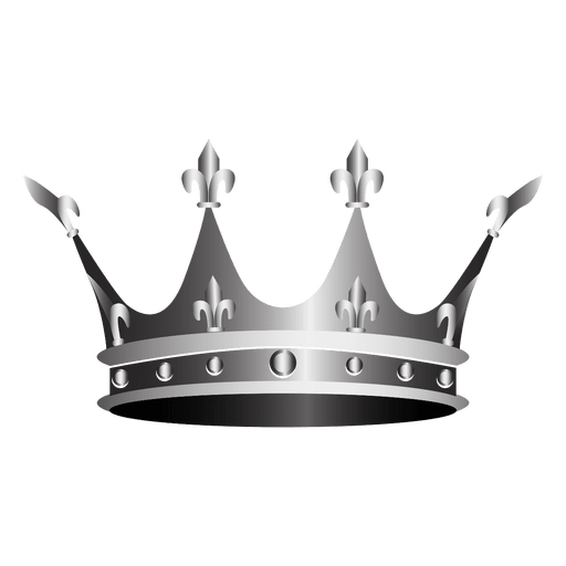 Silver crown png. Clip art transprent free