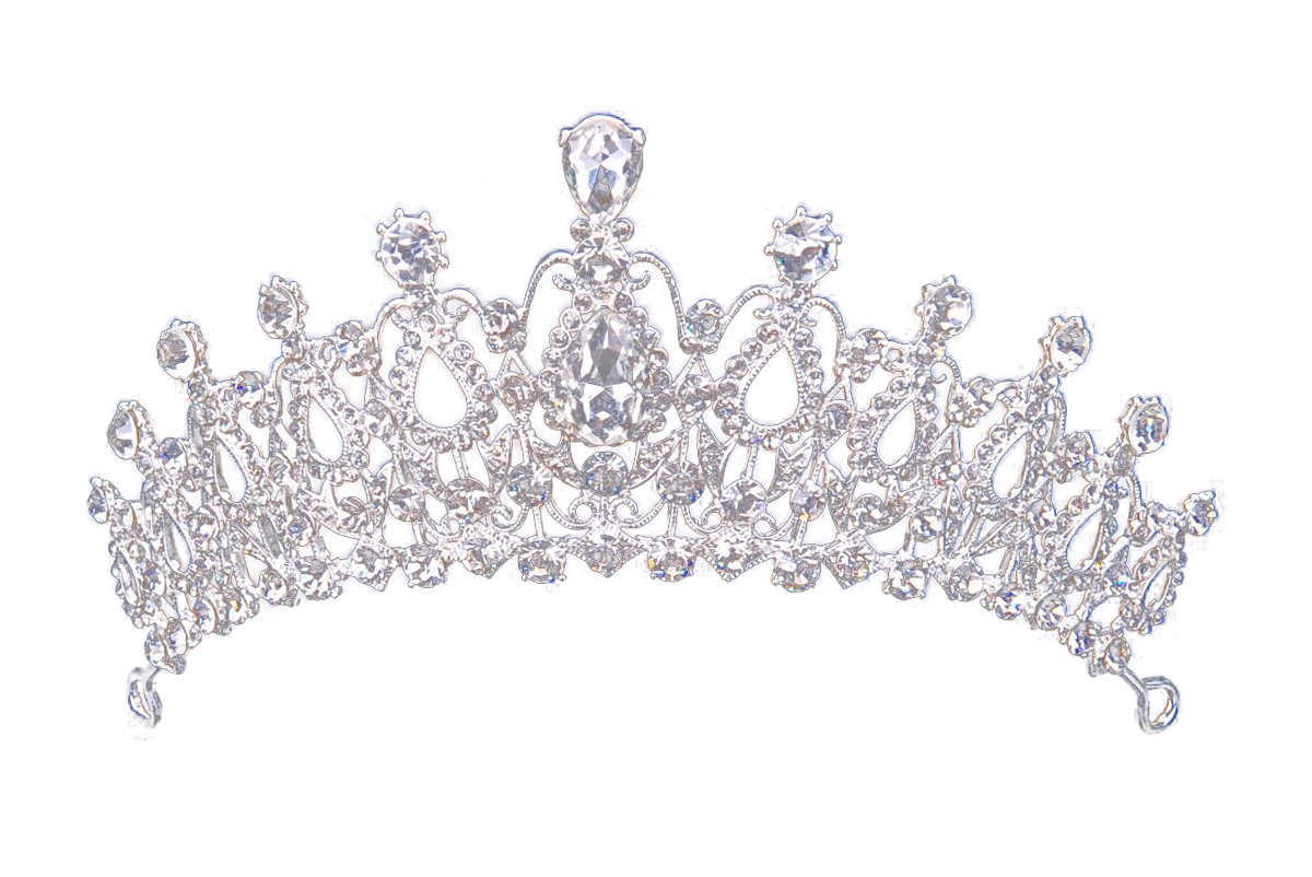 Silver crown png. For queen transparent image
