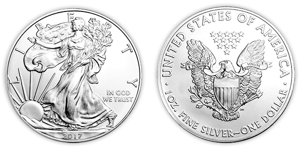 Silver dollar png. American eagle coins buy