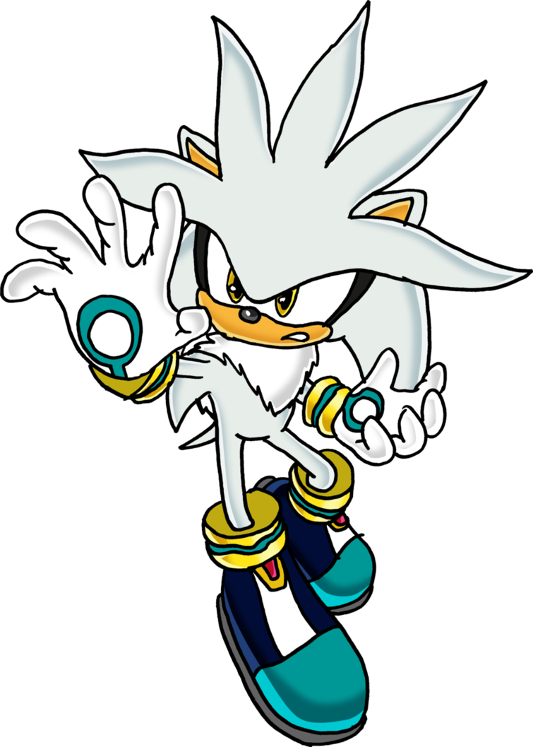 Silver drawing. The hedgehog v by