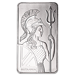 Silver drawing metal bar. United kingdom britannia oz