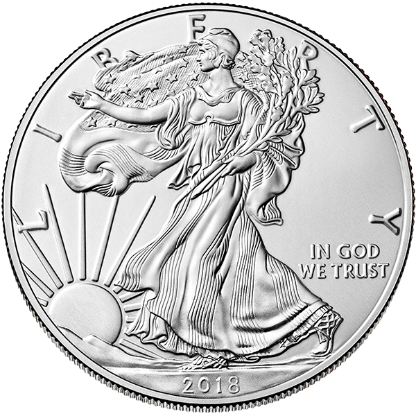 silver drawing coin