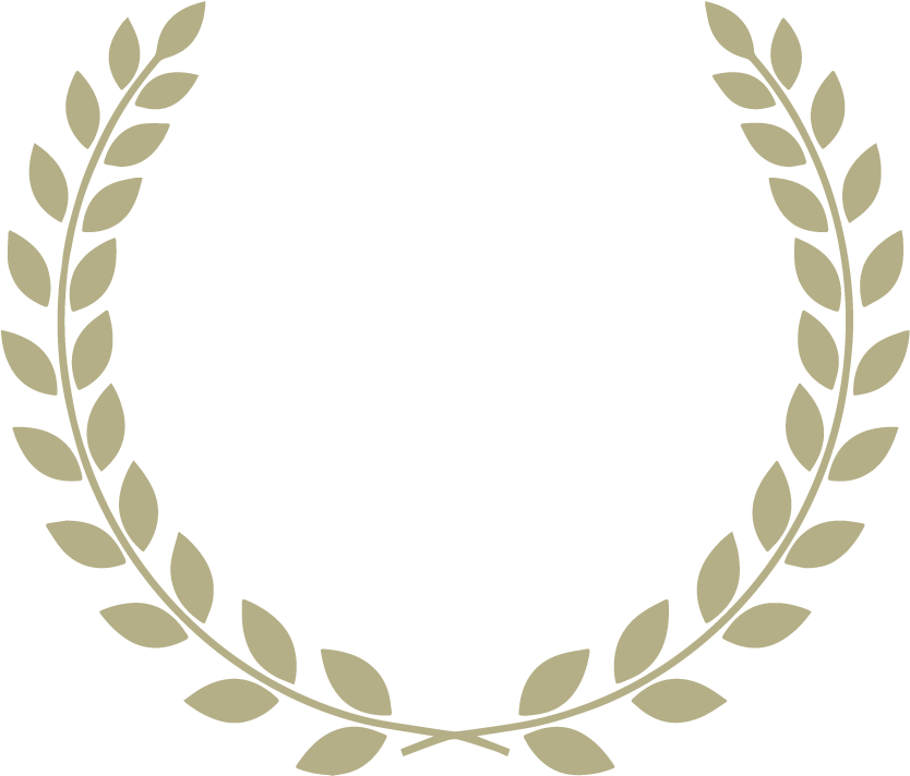 Silver laurel wreath png. Download image with no