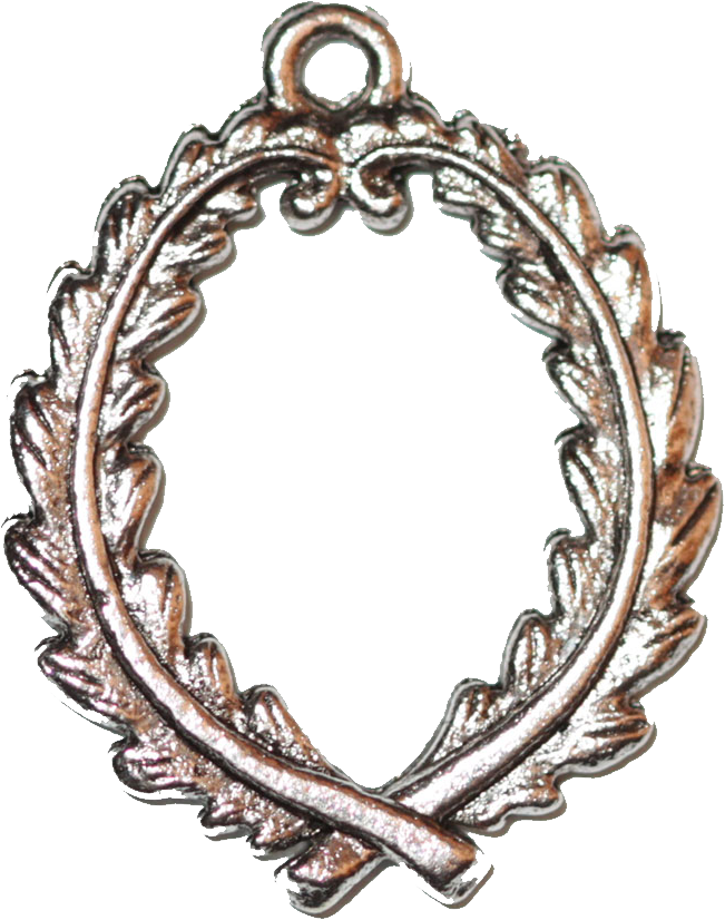 Silver laurel wreath png. Charming lds gifts