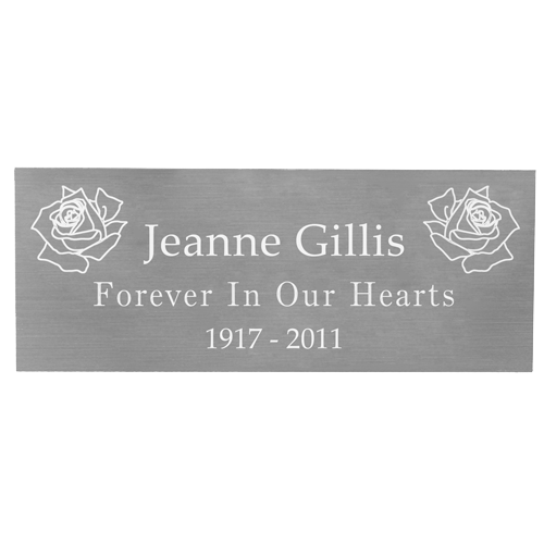 Silver plaque png. Wholesale engraved memorial small