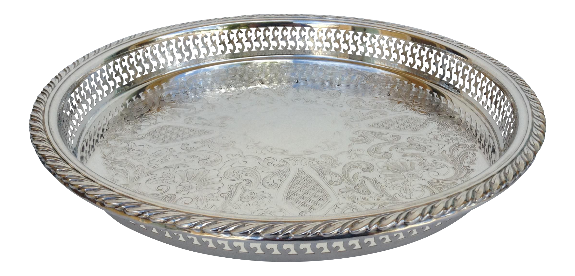 silver plate png