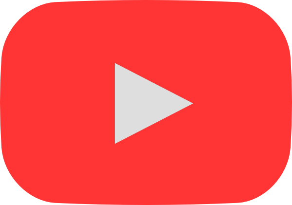 Silver play button png. Youtube style hover clip