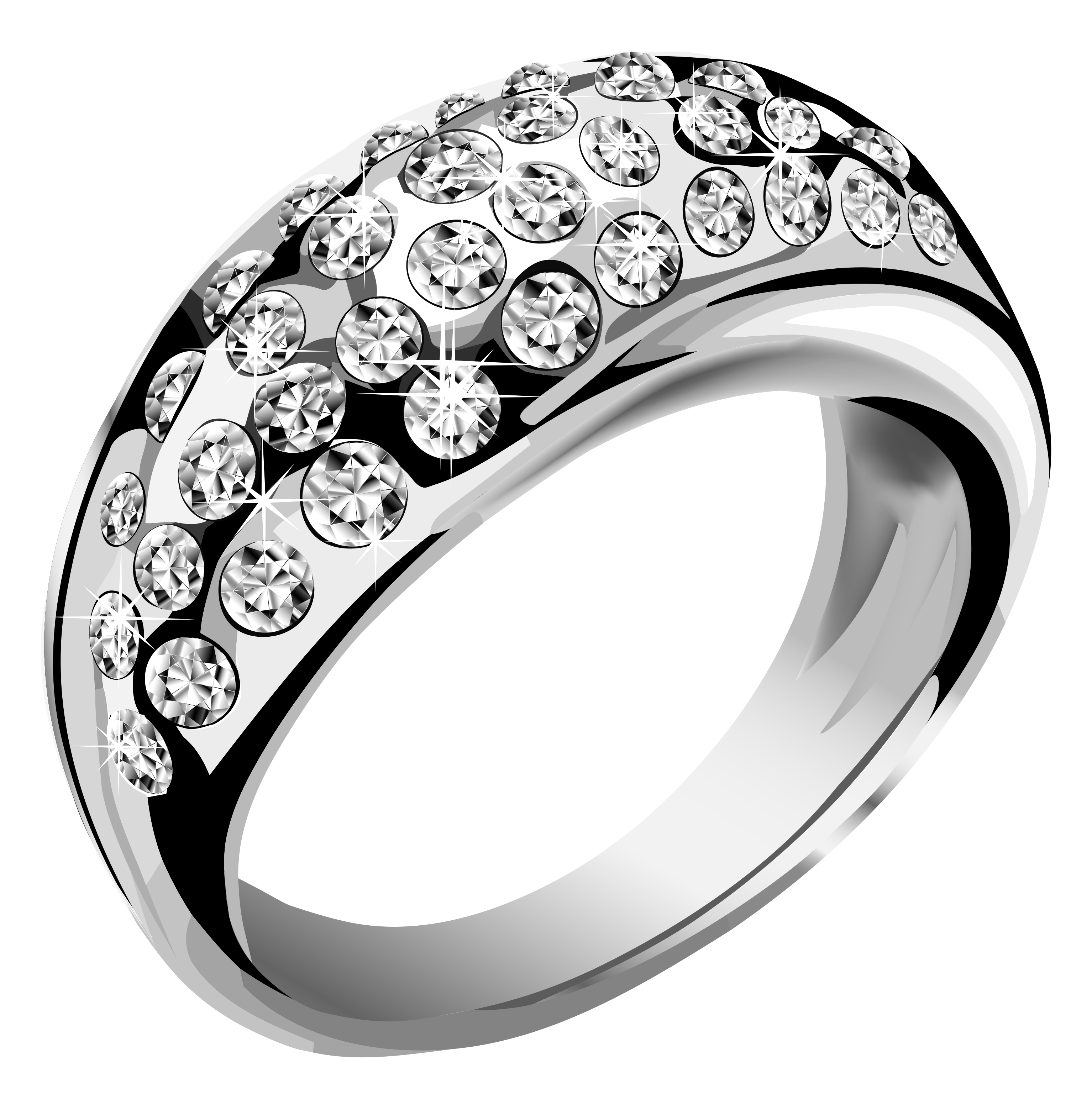 Silver ring png. With diamond image purepng