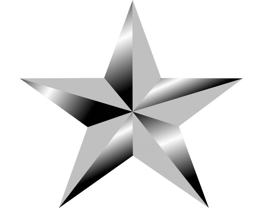 Star png. Download silver clipart photo
