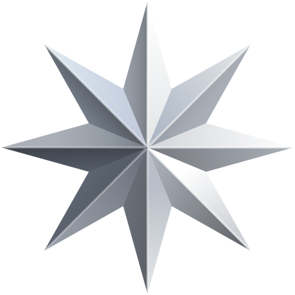 Silver star png. Transparent image gallery yopriceville