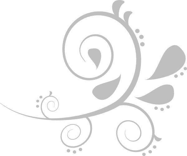 Silver swirl png. Clip art at clker