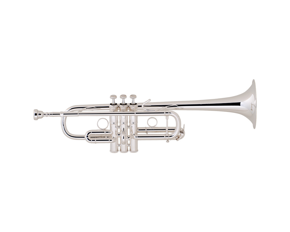 Silver trumpet bell png. Bach strad c sl