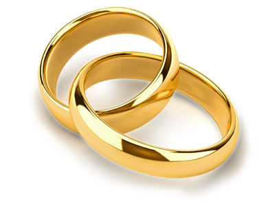 Silver wedding anniversary bell png. Ring images free clipart