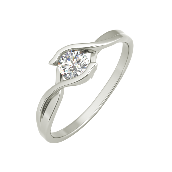 Teresa sterling silver engagement ring