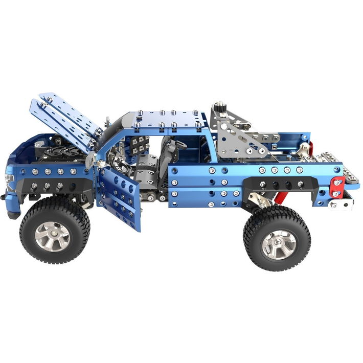 Silverado drawing monster truck. Meccano chevrolet pickup
