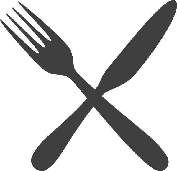 Silverware clipart crossed. Free flatware cliparts download