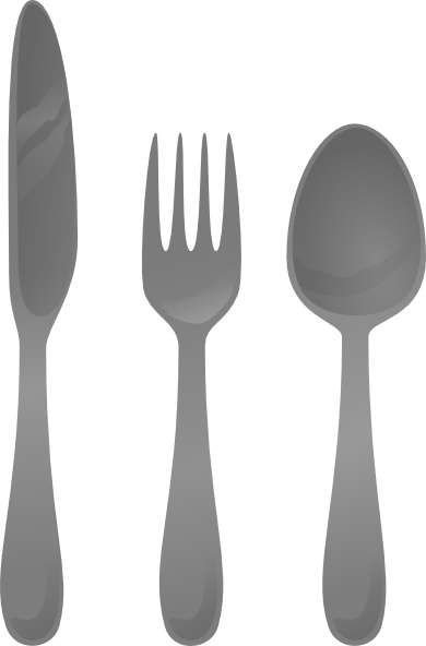 Cutlery vector animated. Moself clip art at