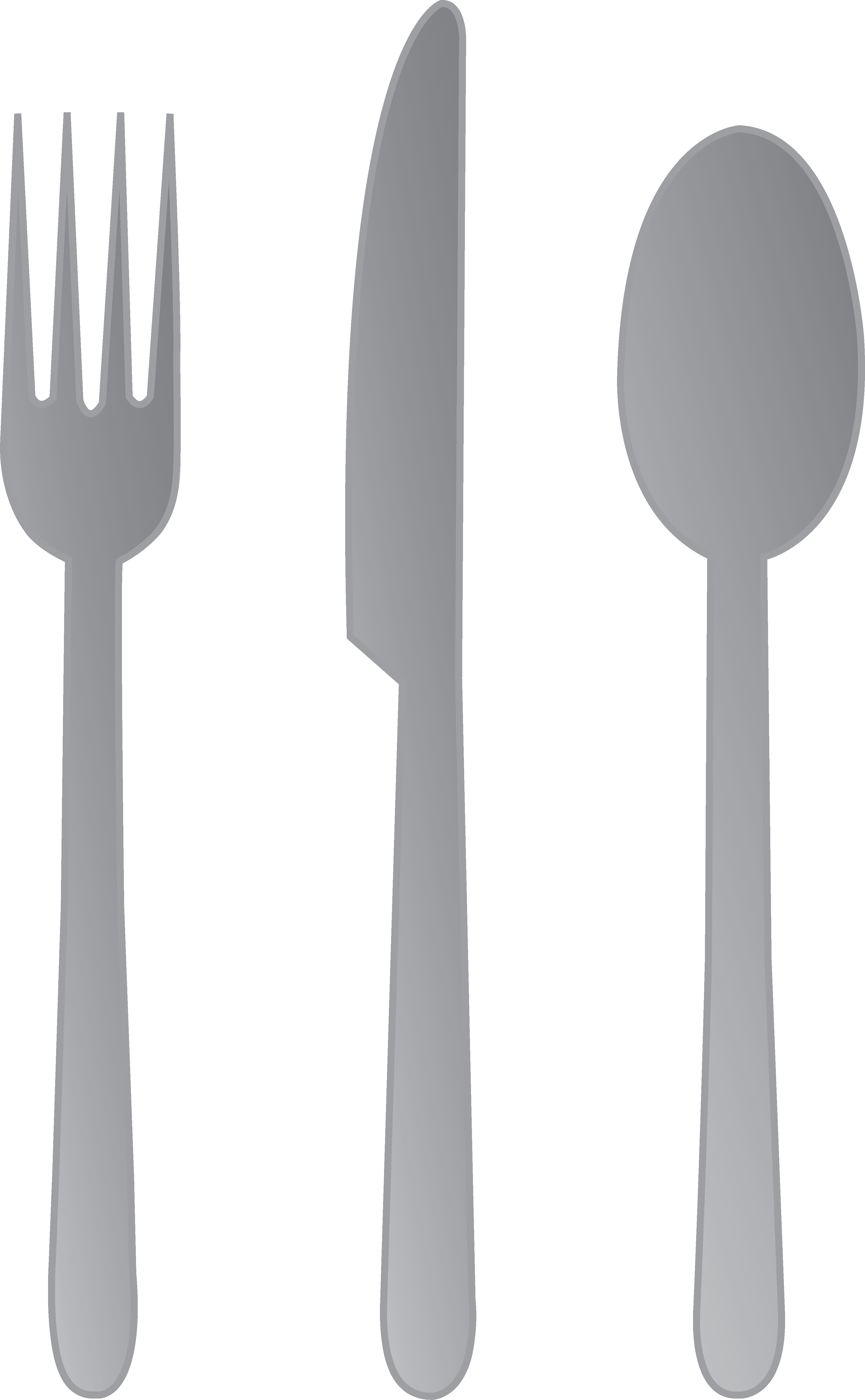 Silverware clipart fork knife. And spoon free clip
