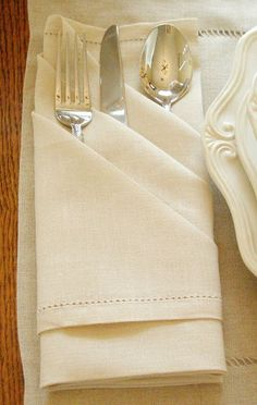Silverware clipart napkin. How to fold a