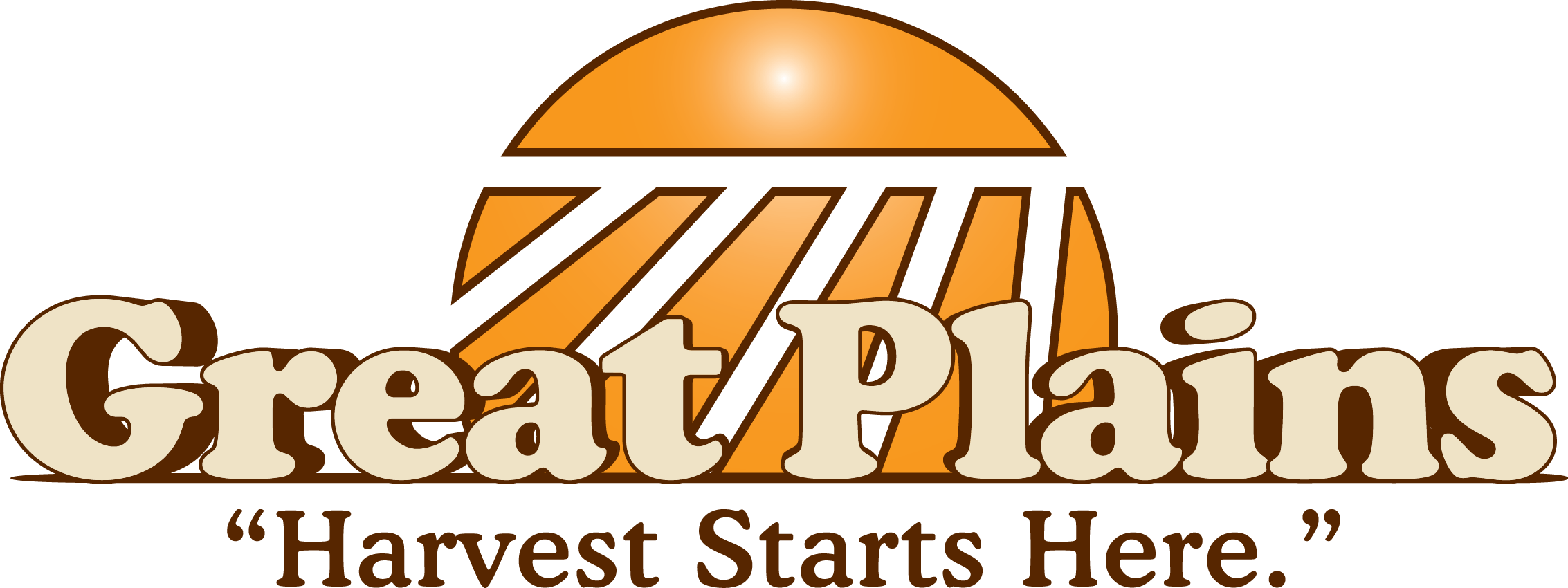 Package vector stacked box. Logos great plains ag