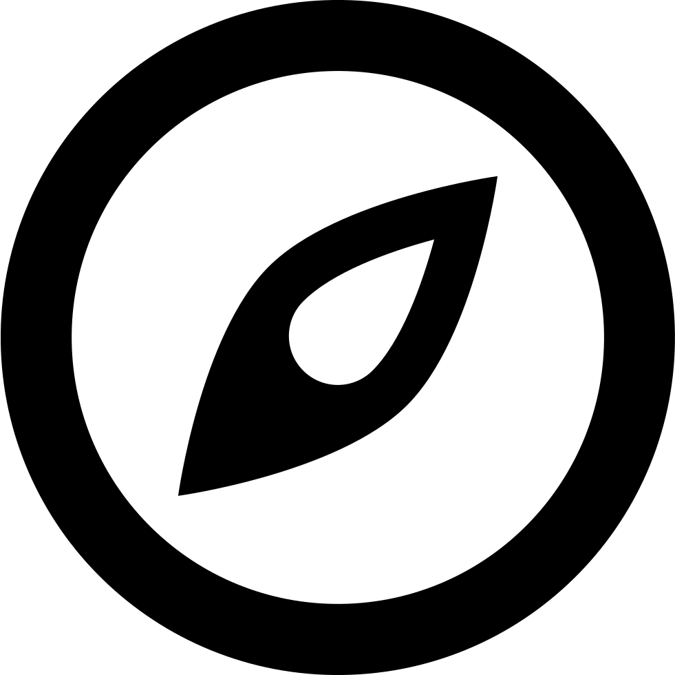 Simple compass png. Svg icon free download