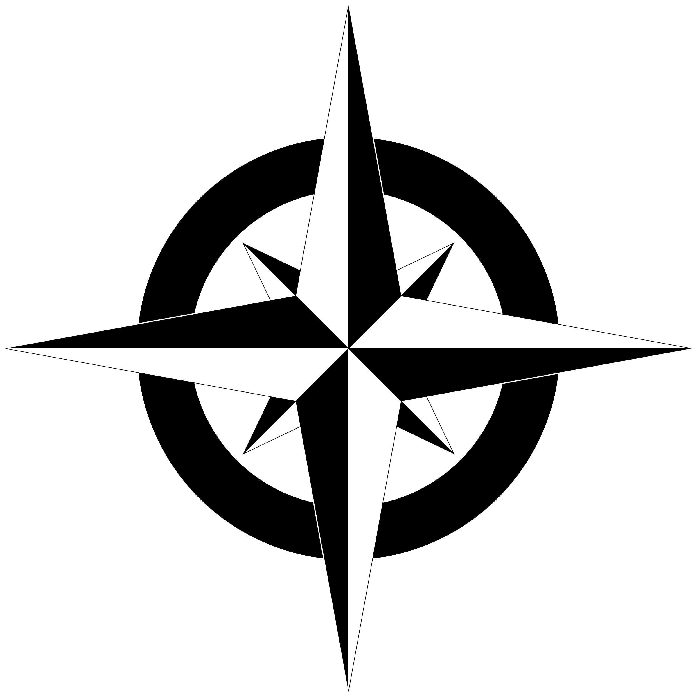 Simple compass png. Clipart