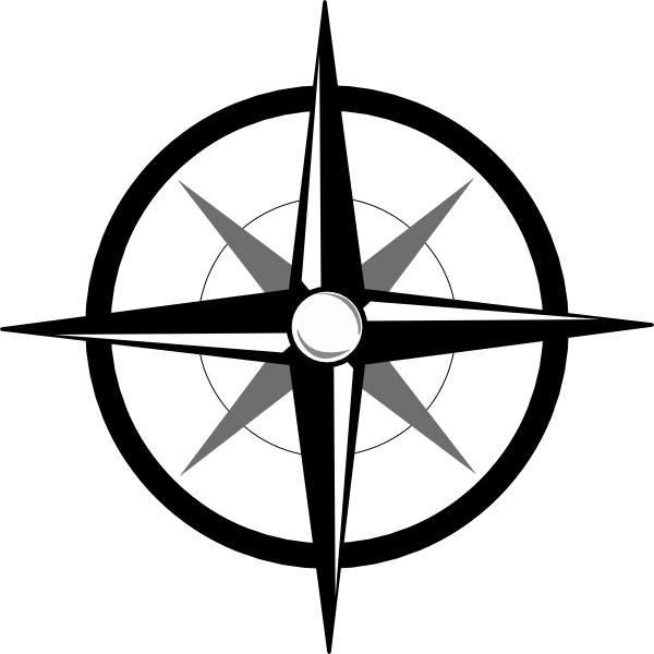 Simple compass png. Clip art at clker