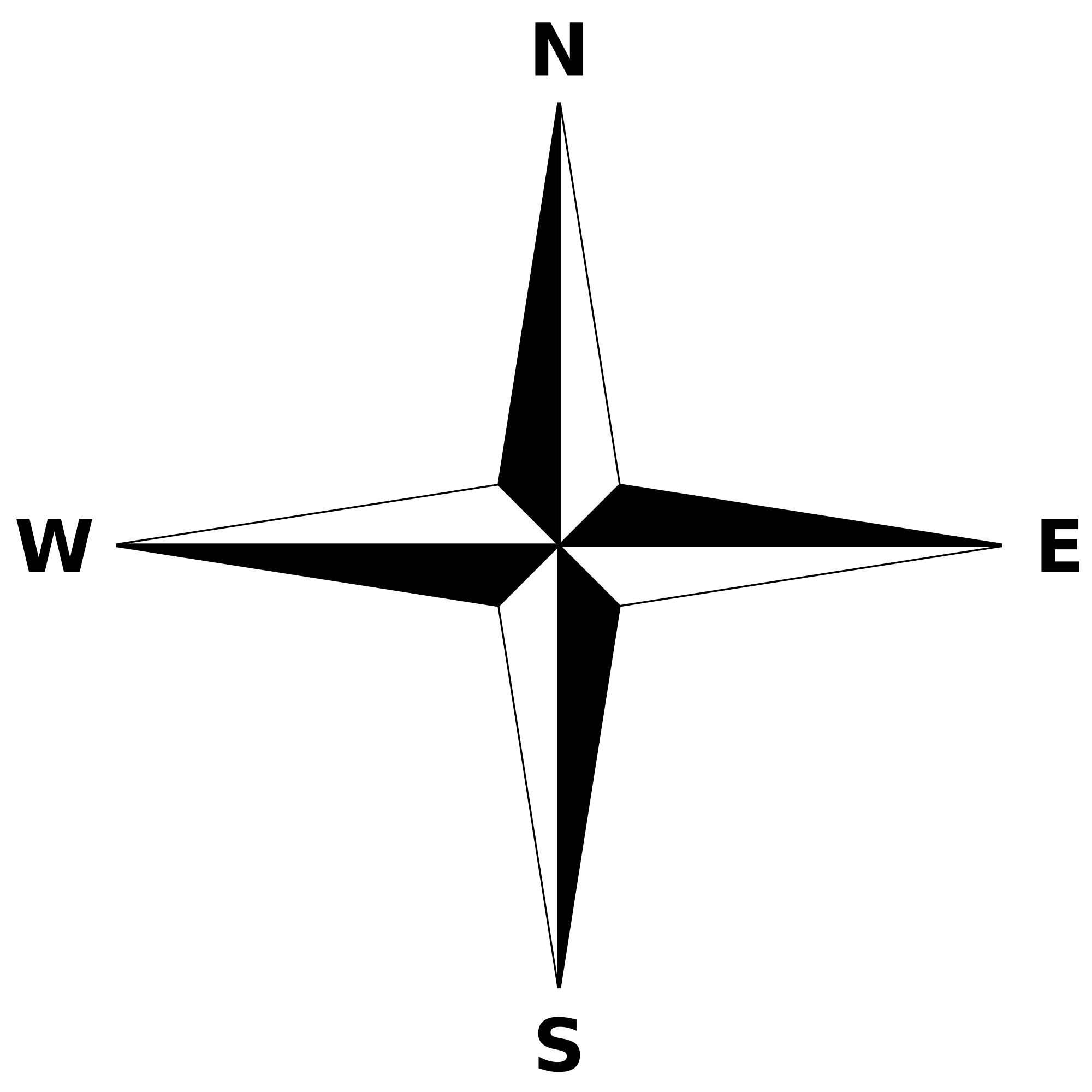 Simple compass png. File rose svg wikimedia