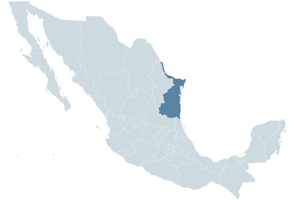 Simple mexico map png. Tampico wikipedia
