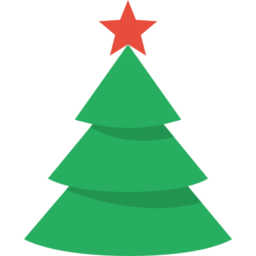 Simple pine tree png. Collection of xmas