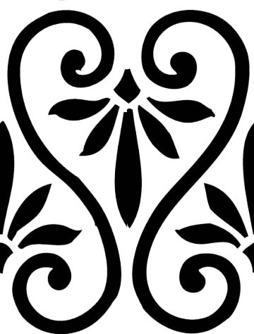 Simple swirl patterns png. Seamless tiles and