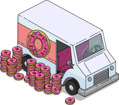 Simpson donut png. Image truck menu the