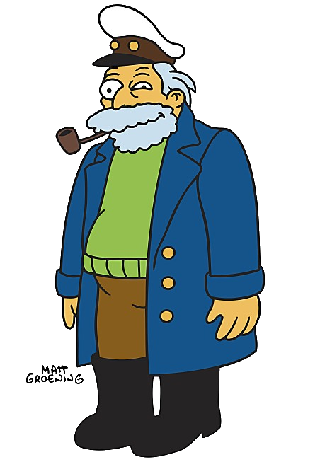 Simpsons captain png. Horatio mccallister wikisimpsons the