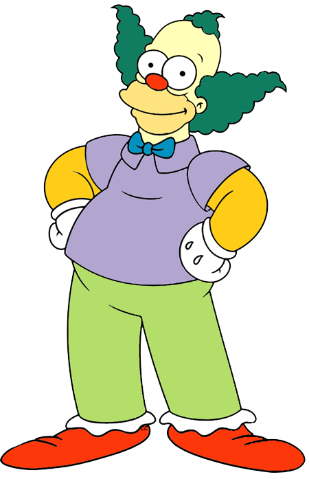 Simpsons characters png. The clip art cartoon