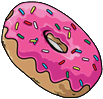 Simpsons donut png. Donuts the tapped out