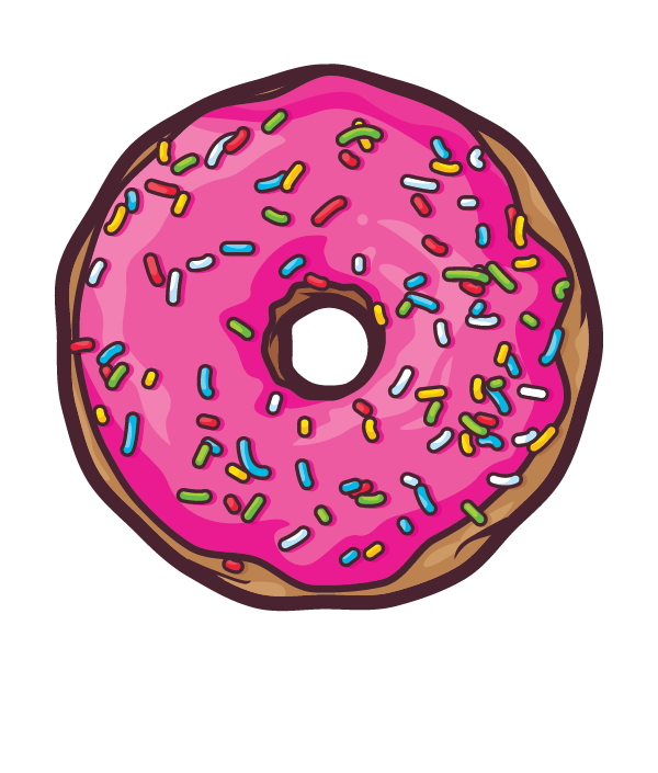 Simpsons donut png. Donuts by javier padilla