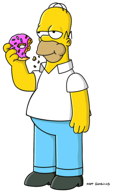Simpsons drawing dignity. Homer simpson society for