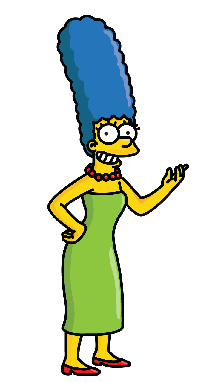 Simpsons drawing easy. How to draw marge