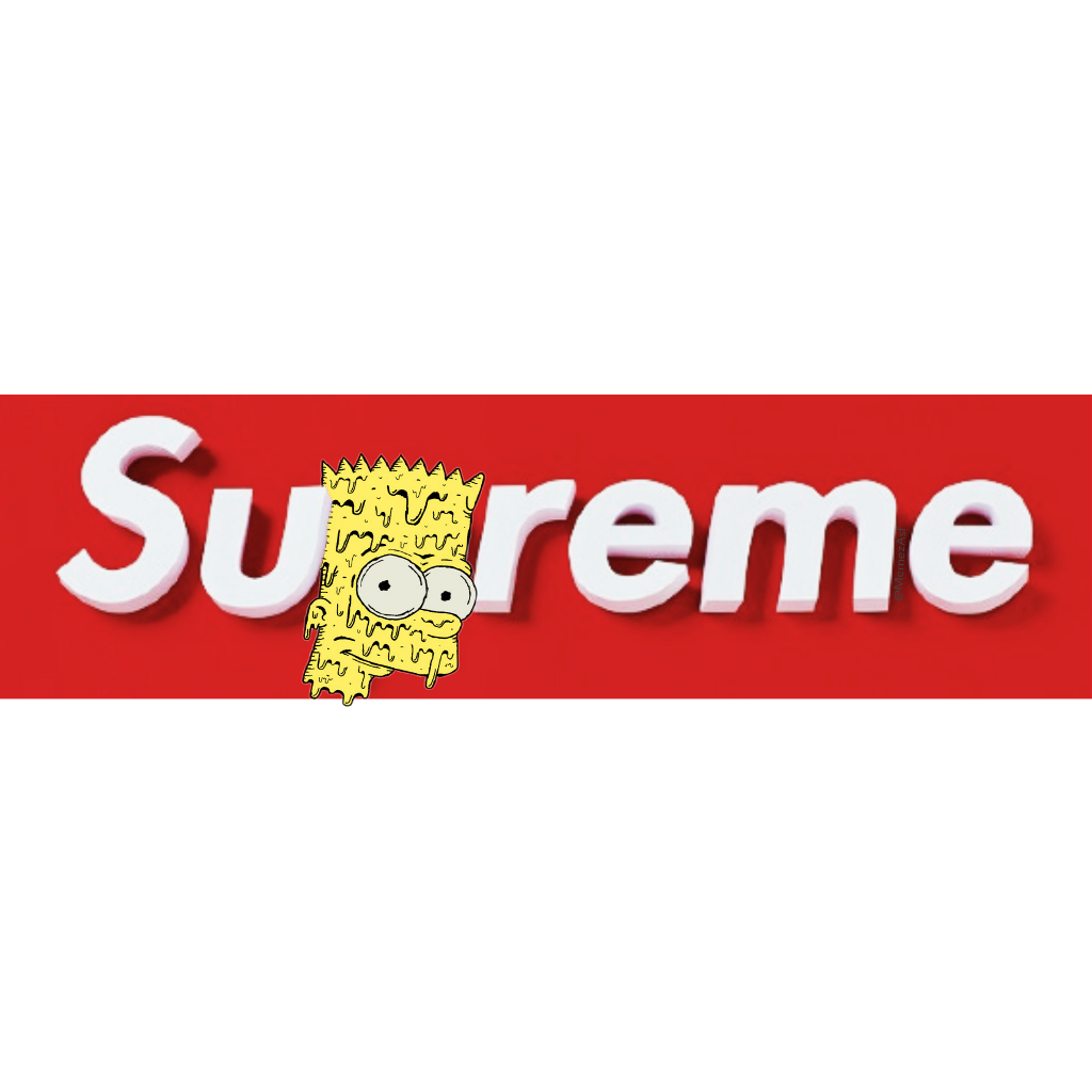 Simpsons transparent lit. Bart supreme thesimpsons bartsimpson