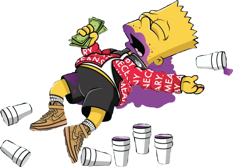 Simpsons drawing supreme. Bart bartsimpson lean thesimpsons