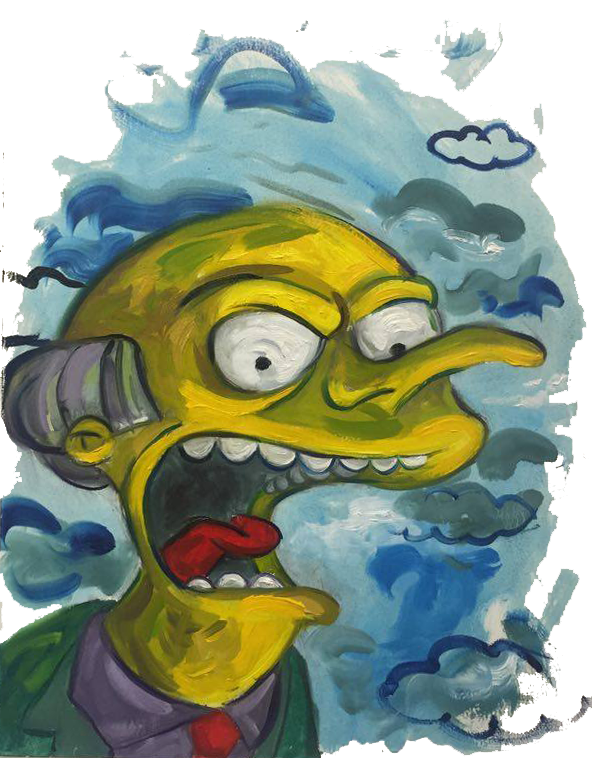 Simpsons drawing first. This apocalypse think not