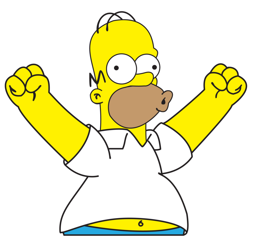 Simpsons gif png. Homer simpson by cjanimal