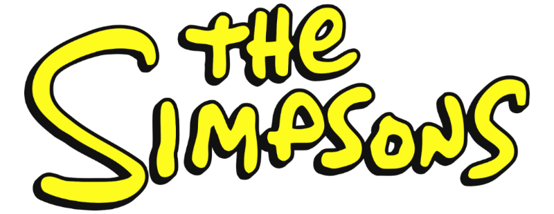 Simpsons logo png. Image the da animated