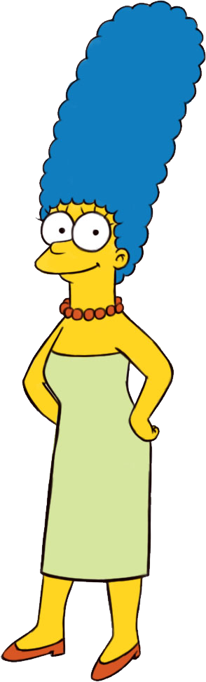 Simpsons marge png. Images free download homer