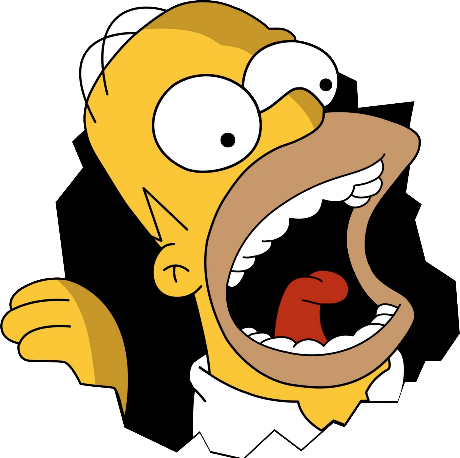 Homer simpson . Simpsons png image free library