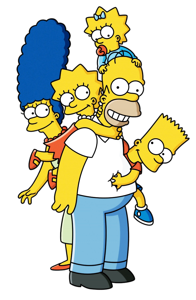 Simpson buscar con google. Simpsons png clip art library