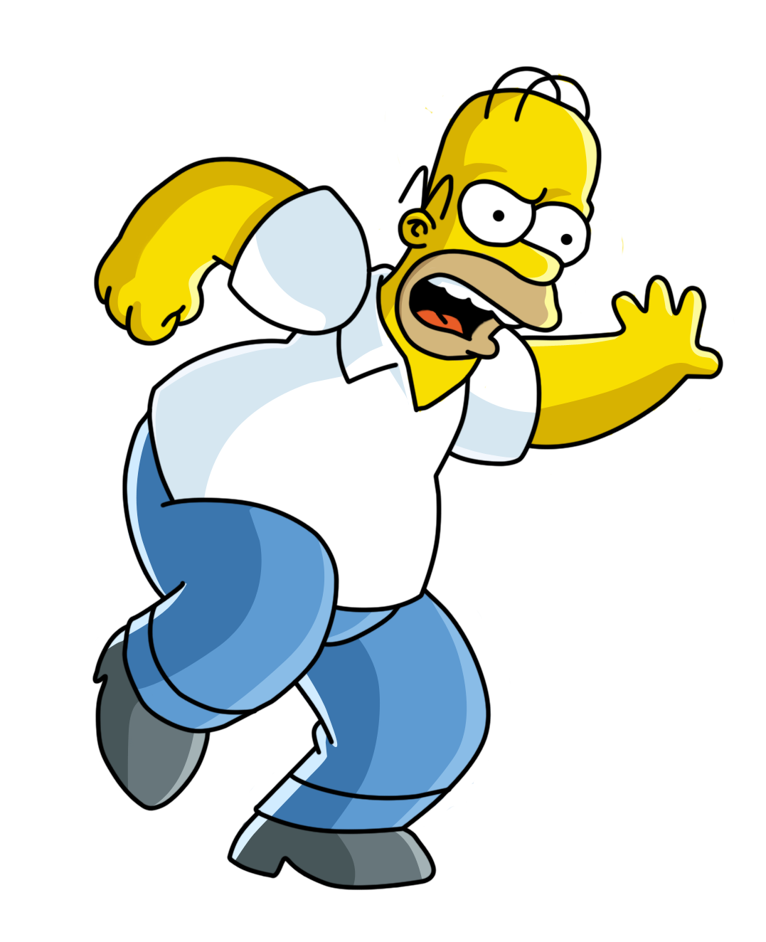 Image e aa b. Simpsons png svg free library
